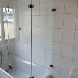 Eck Duschwand Fur Badewanne Duschabtrennung